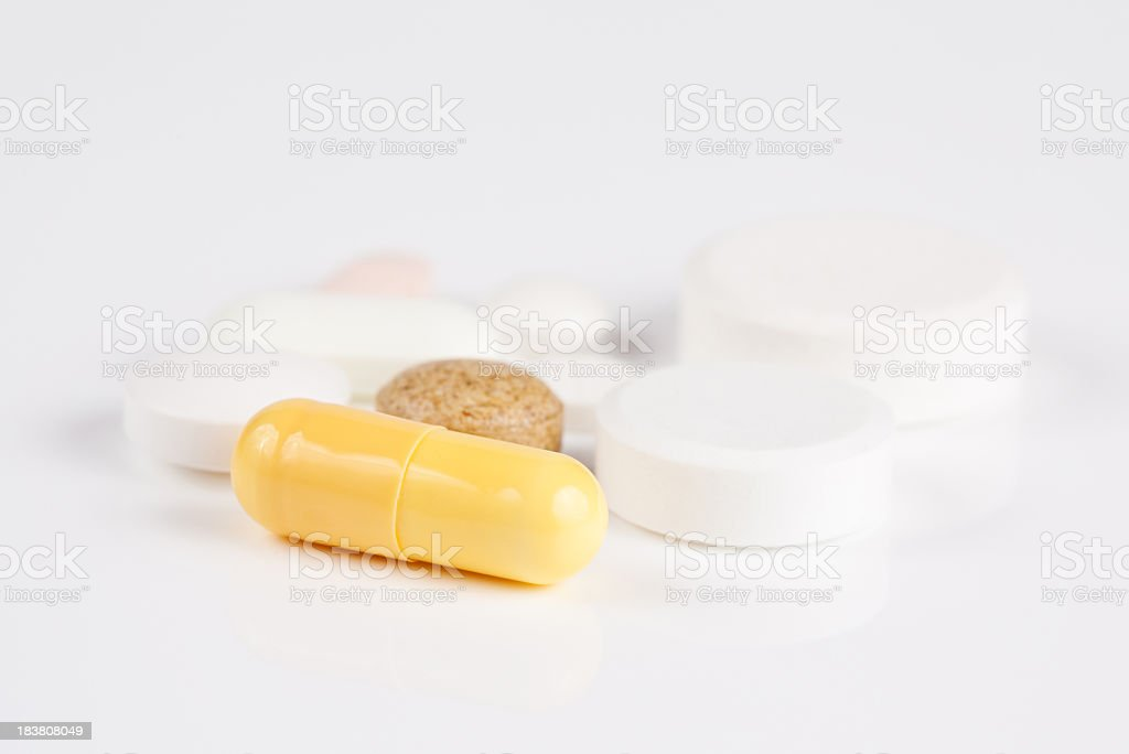 Medical pills royalty-free stock photo