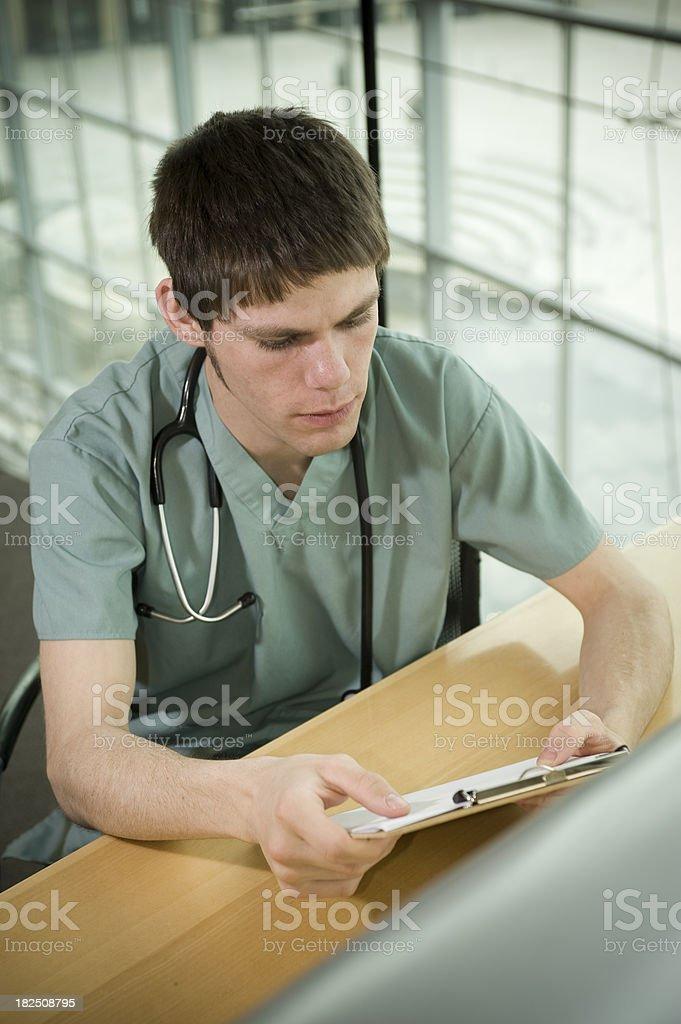 Medical Portrait royalty-free stock photo