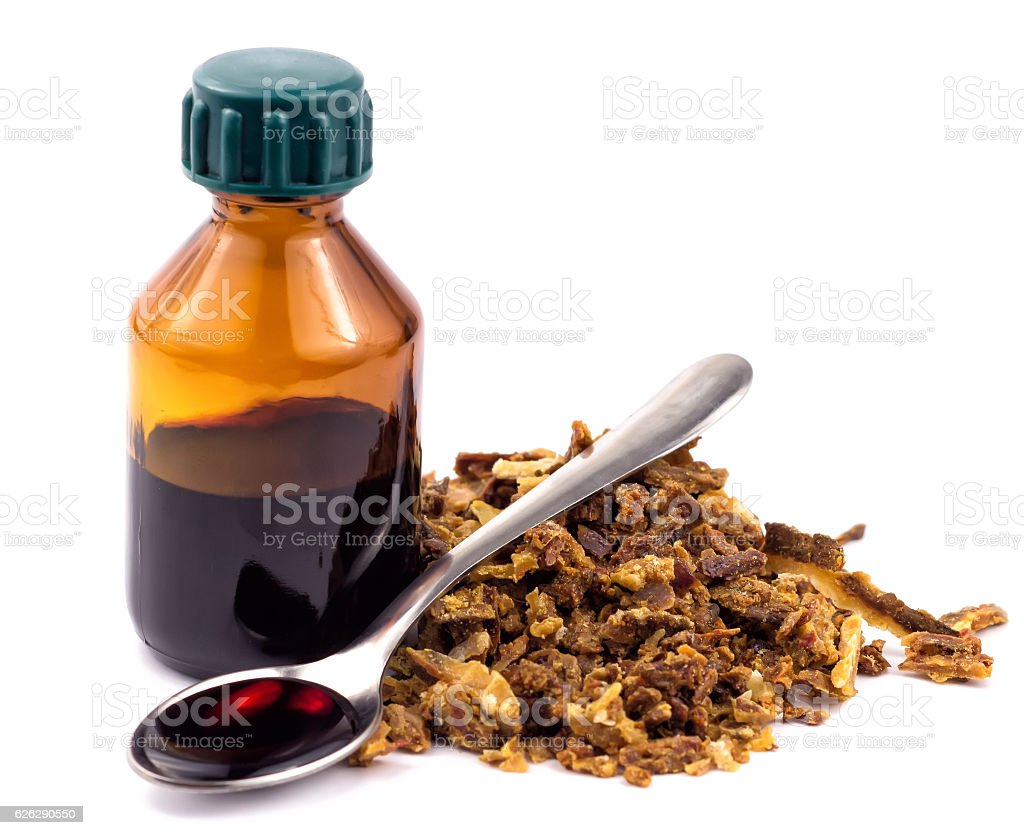 Medical preparations bee propolis. Apitherapy. Isolated on white background stock photo