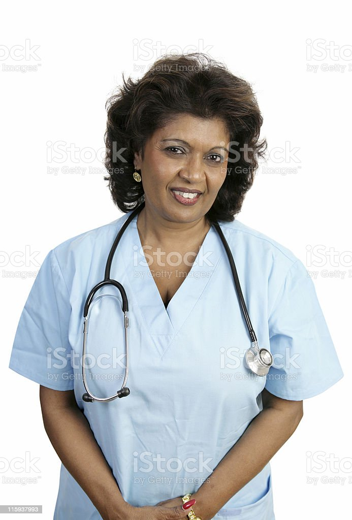 Medical Professional - Compassionate royalty-free stock photo