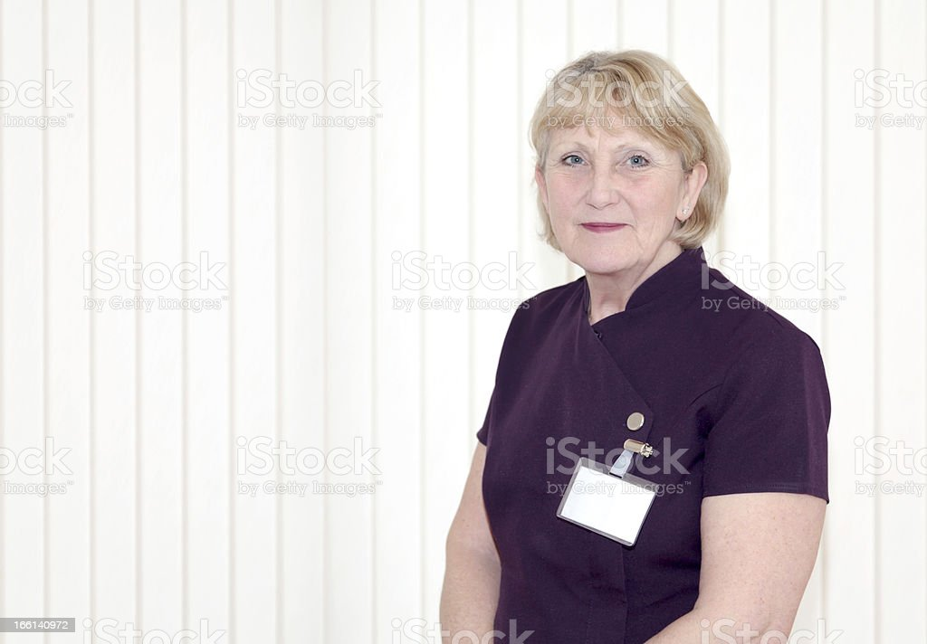 Medical Receptionist royalty-free stock photo