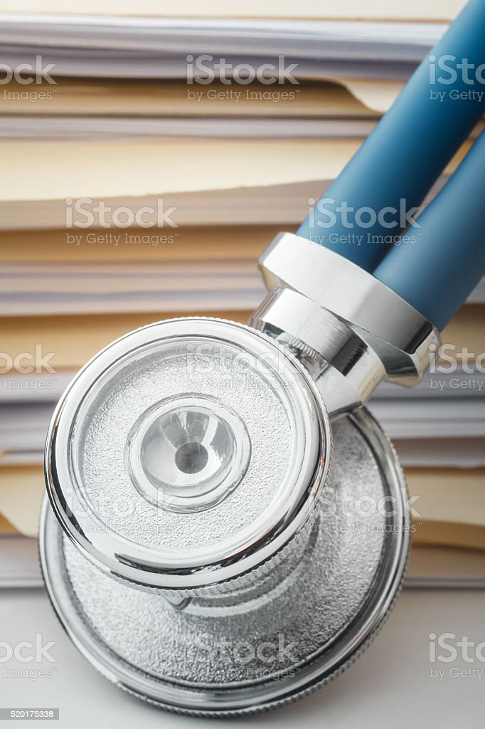 Medical Record stock photo