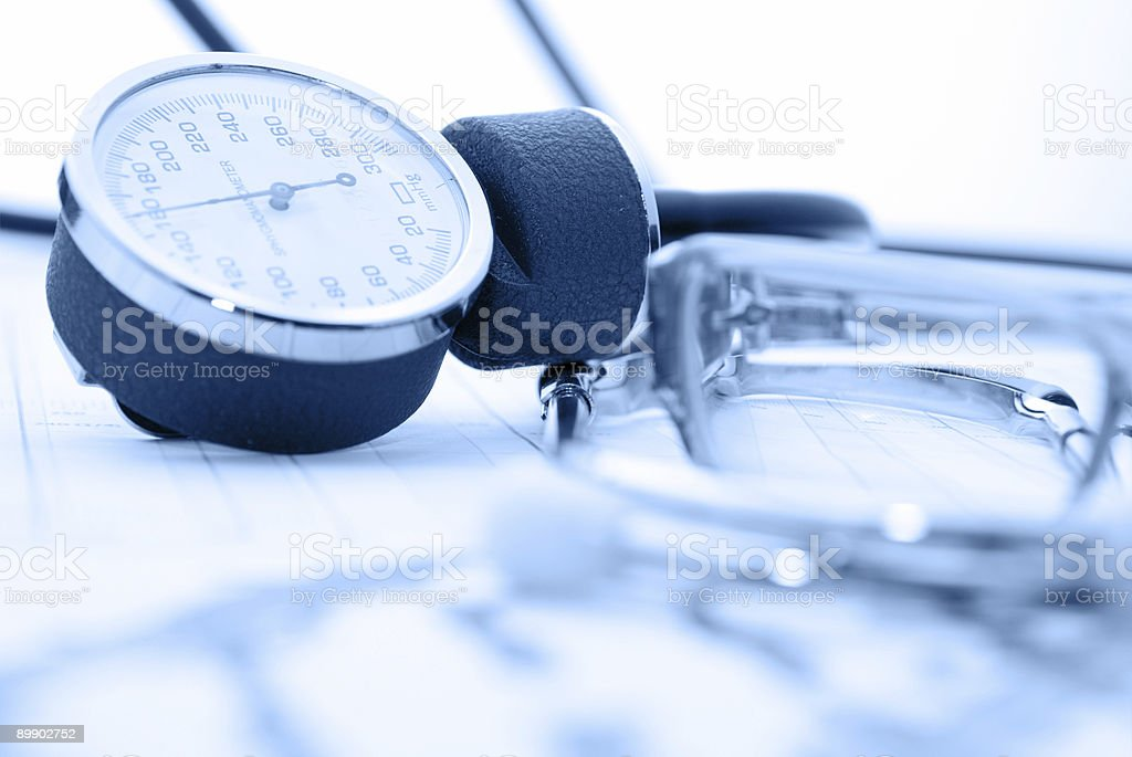 medical report royalty-free stock photo