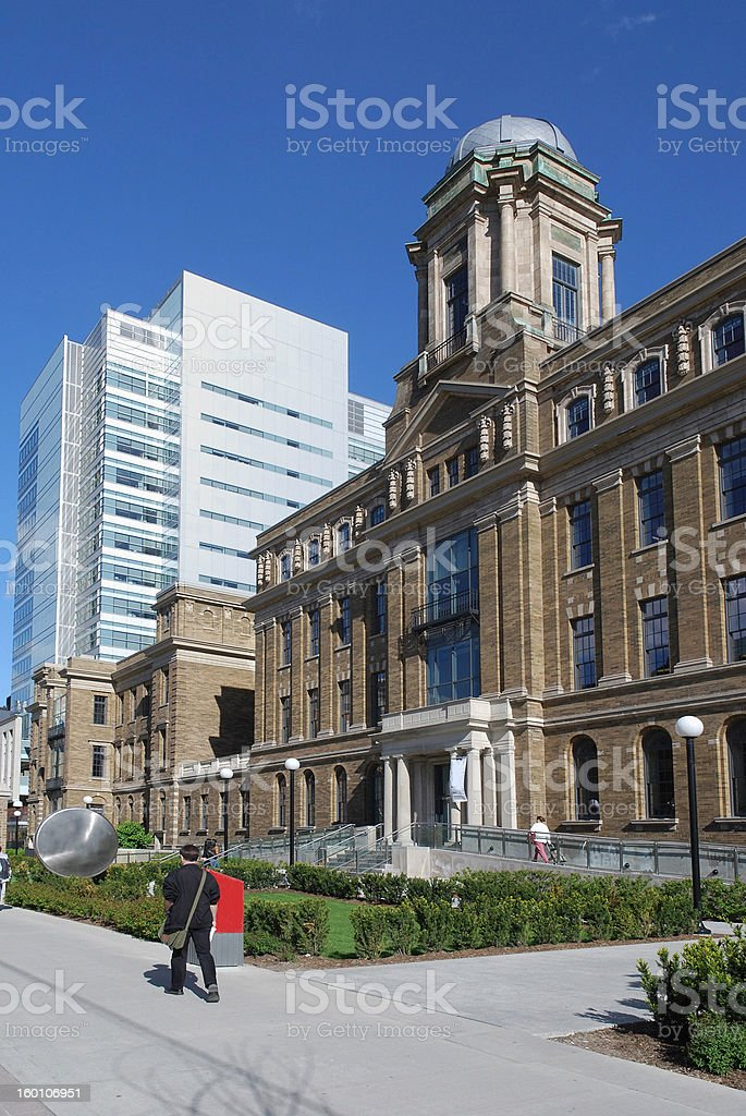 Medical research institute stock photo