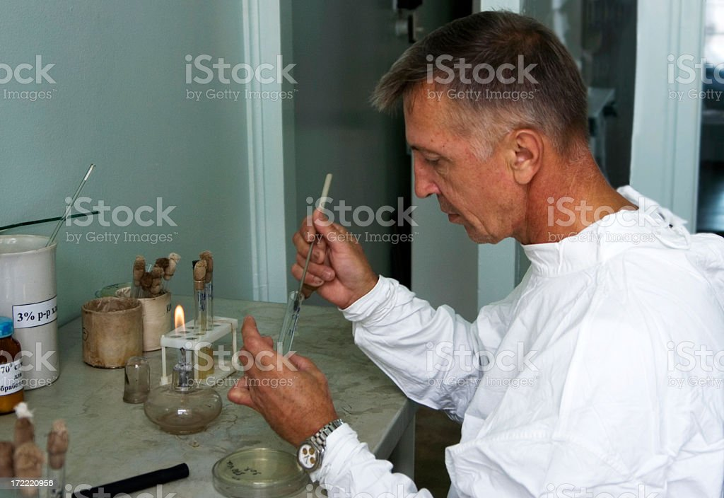 Medical research royalty-free stock photo