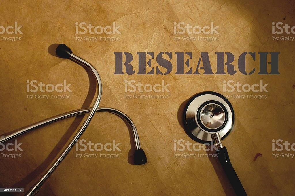 Medical research stock photo
