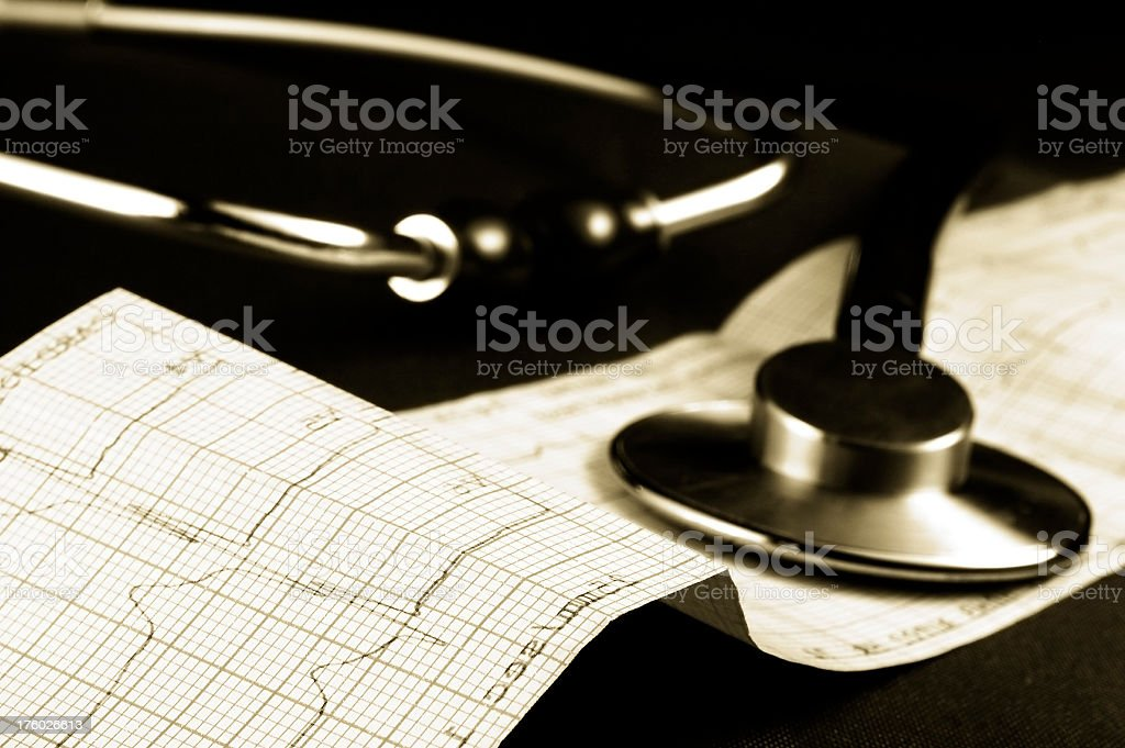 Medical results royalty-free stock photo