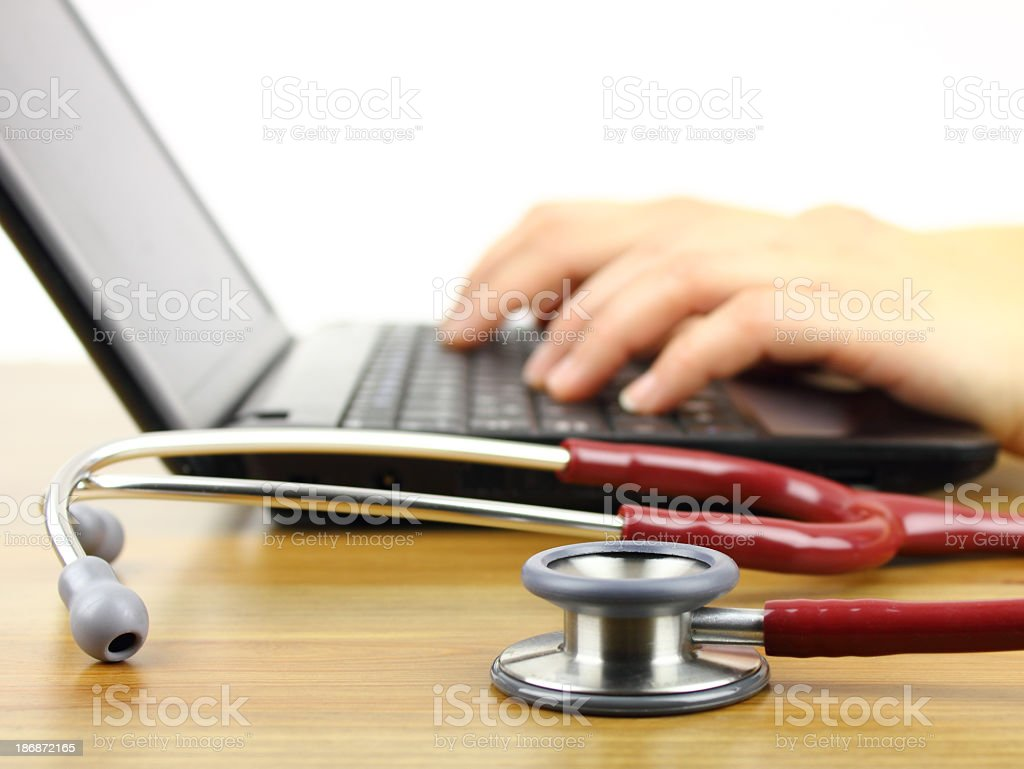 Medical search stock photo