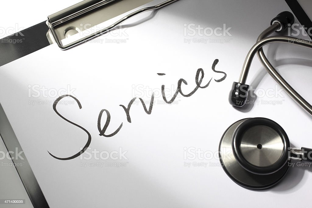 Medical Services royalty-free stock photo