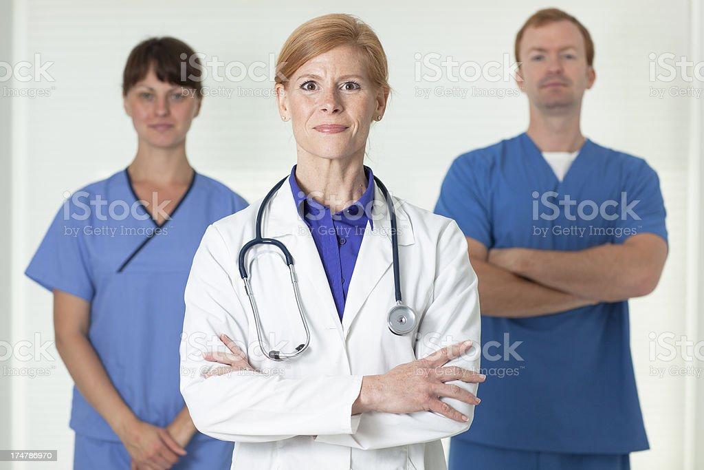 Medical staff royalty-free stock photo