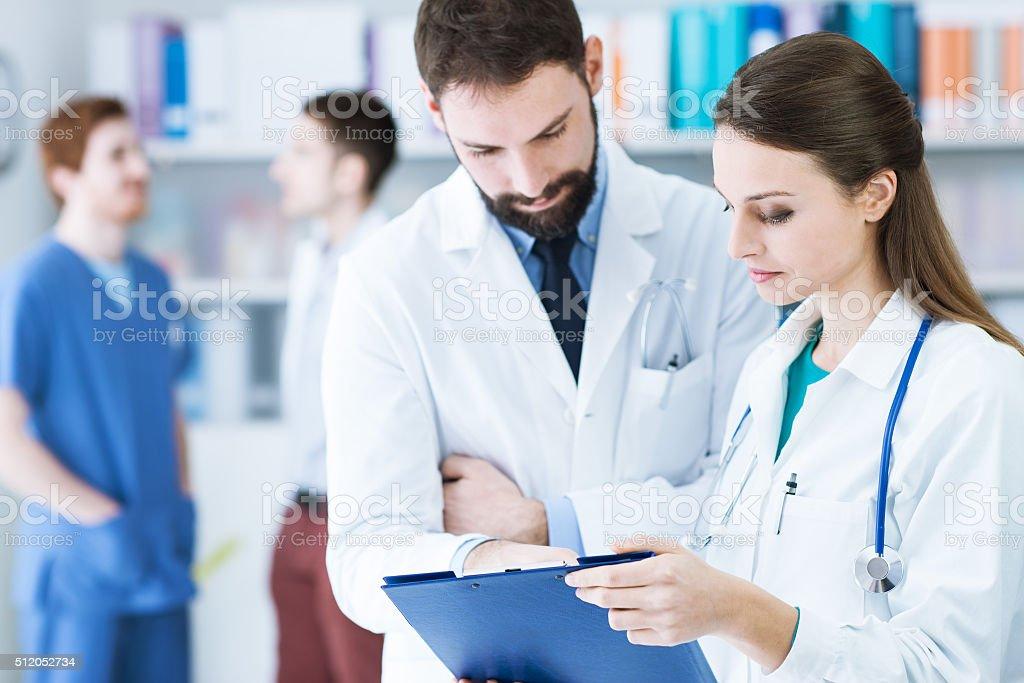 Medical staff stock photo
