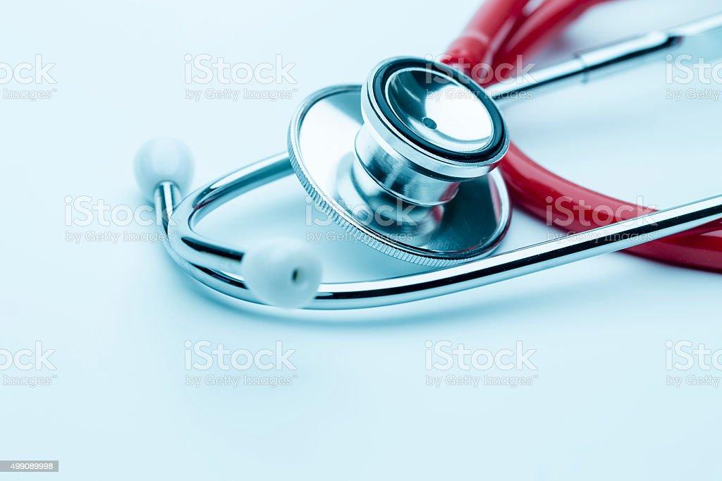 Medical Stethoscope stock photo