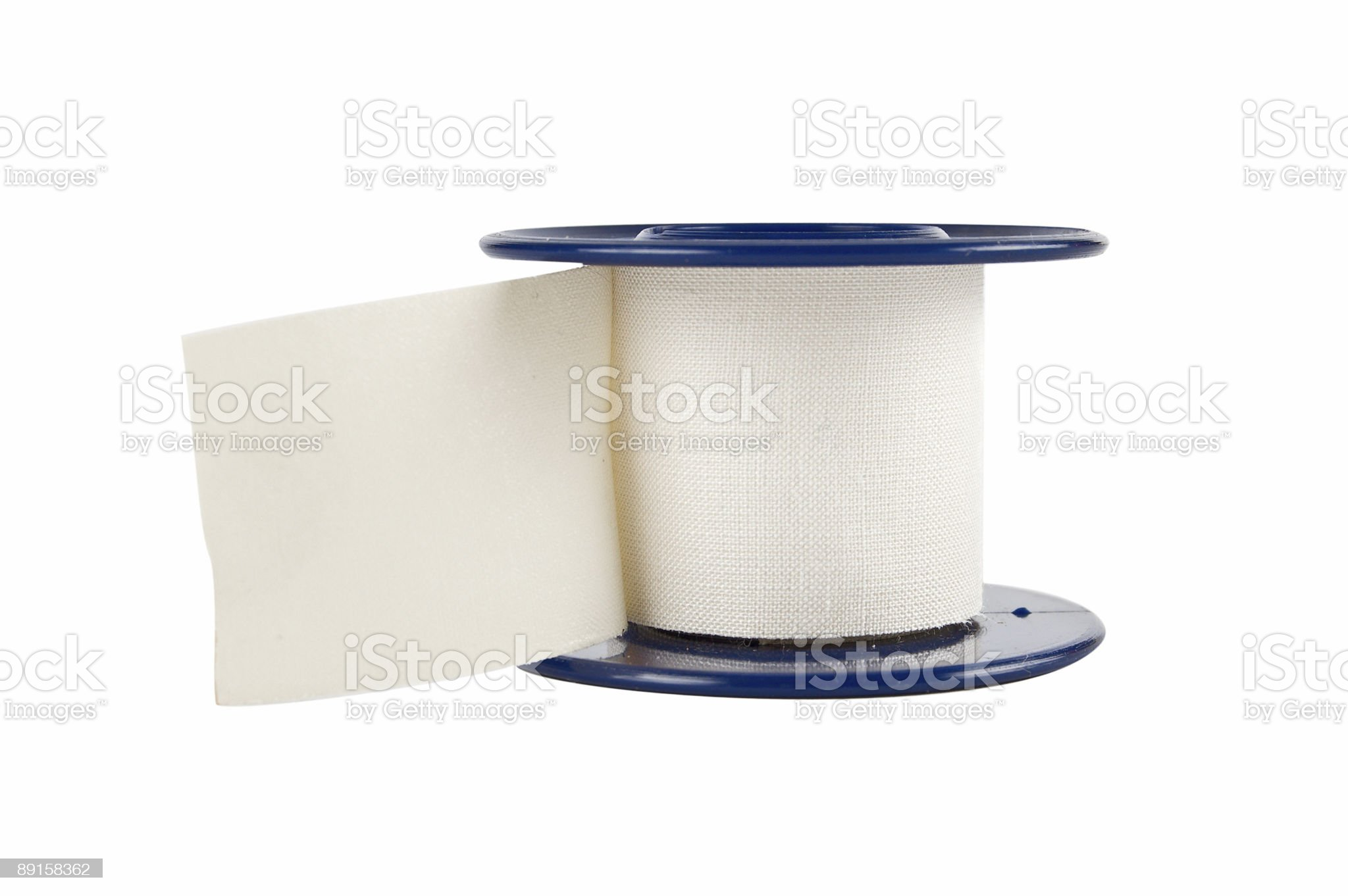 Medical sticking plaster royalty-free stock photo