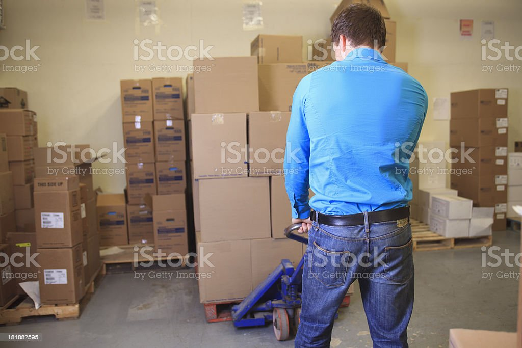 Medical Store - Bring boxes royalty-free stock photo