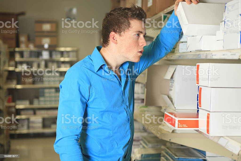 Medical Store - Enough Stock royalty-free stock photo