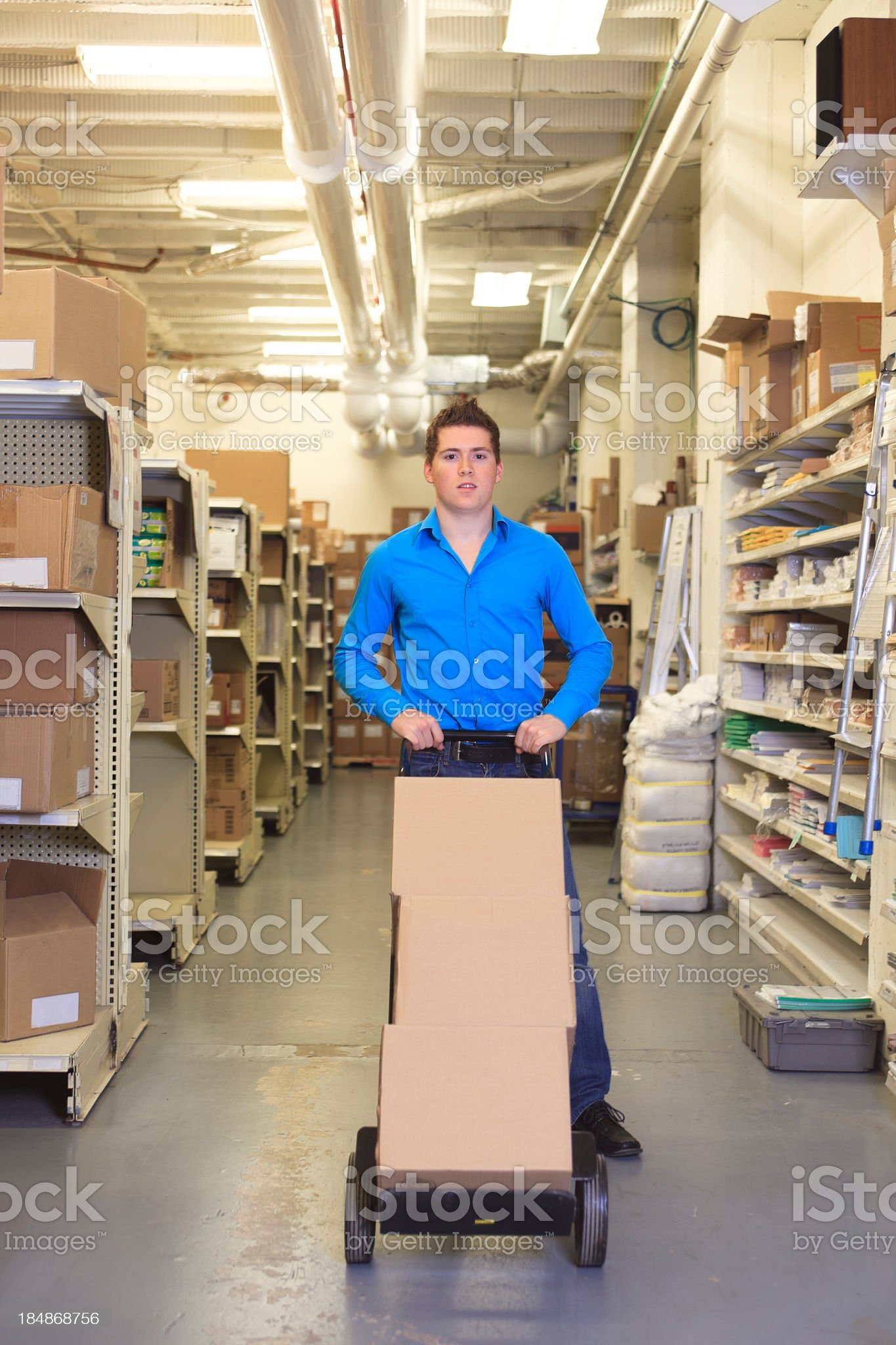 Medical Store - Vertical Box royalty-free stock photo
