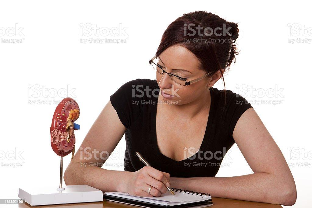 Medical student stock photo