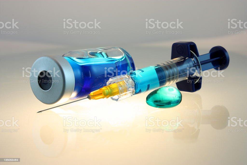 Medical supplies royalty-free stock photo