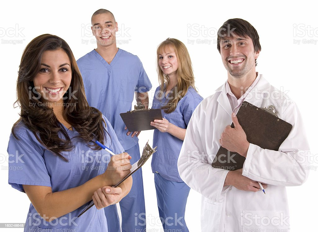 Medical Team 3 royalty-free stock photo