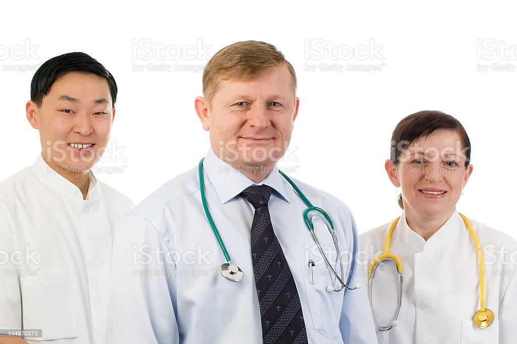 Medical team. royalty-free stock photo