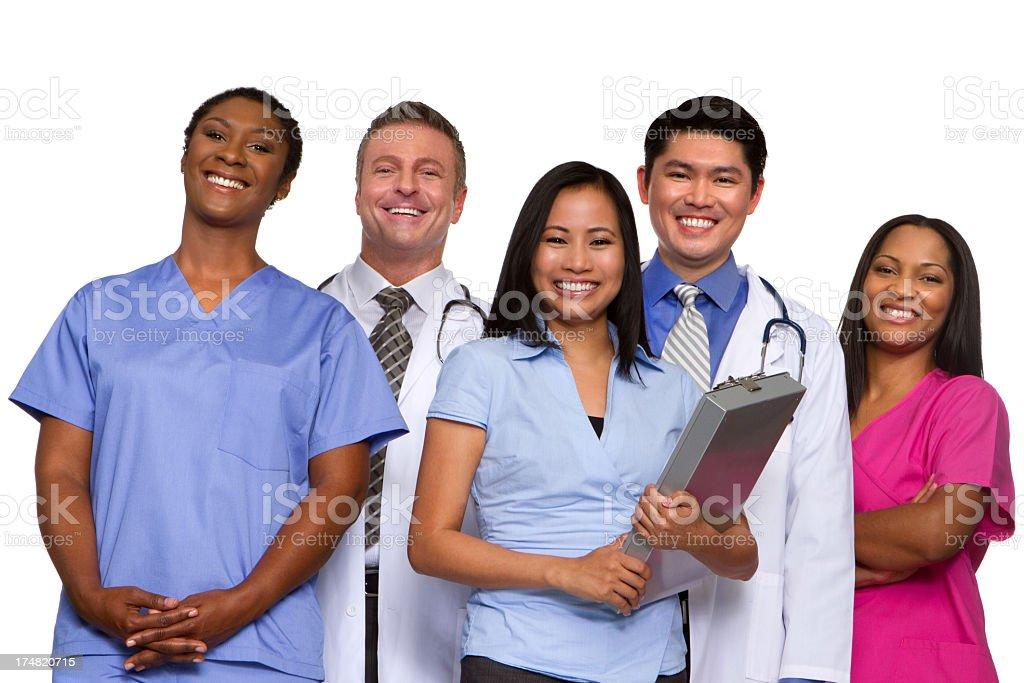 Medical Team royalty-free stock photo