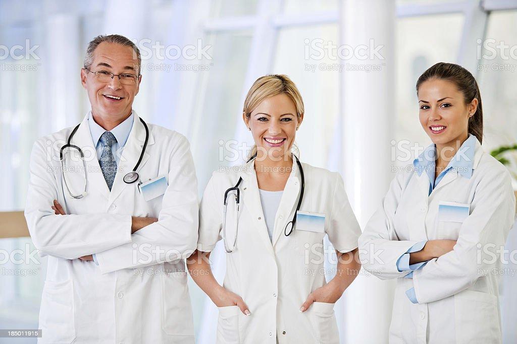 Medical team. royalty-free stock photo