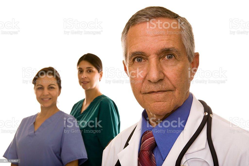 Medical Team #2 royalty-free stock photo