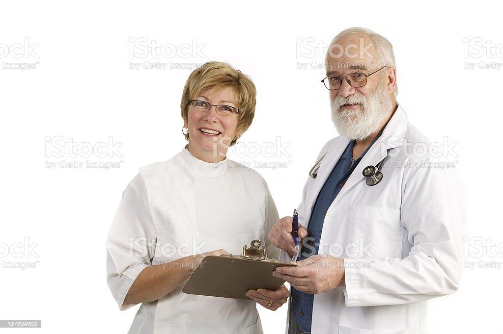 Medical teamwork royalty-free stock photo