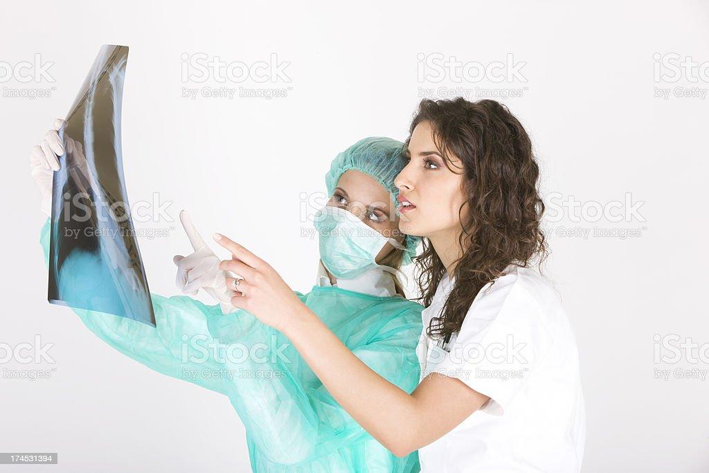 Medical teamwork stock photo