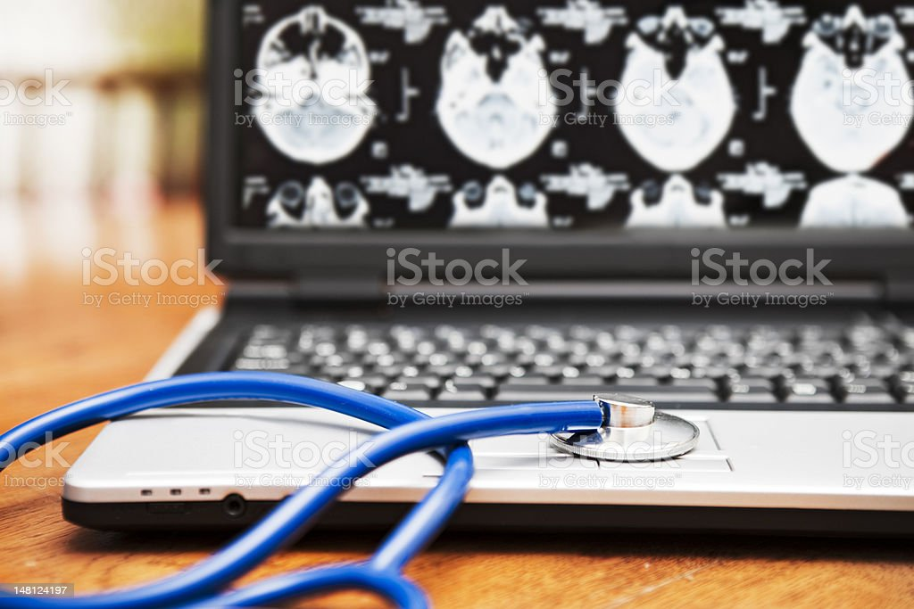 Medical tech royalty-free stock photo