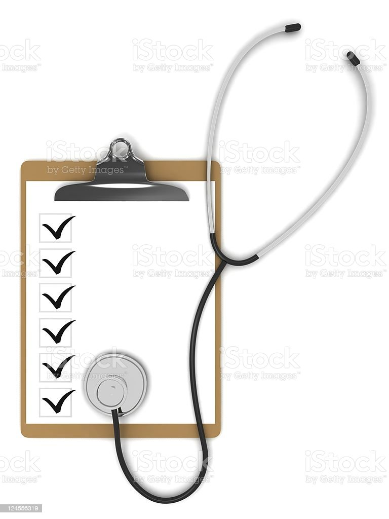 Medical Test royalty-free stock photo