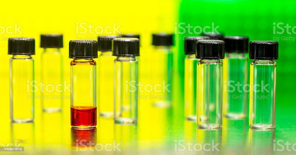 Medical test stock photo