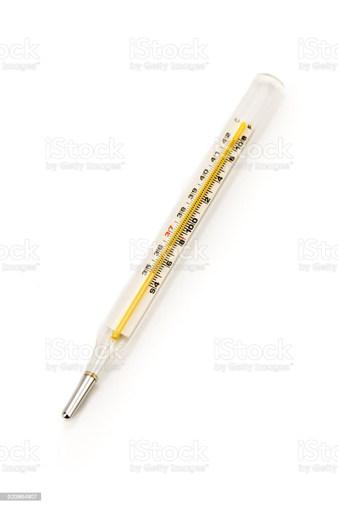 Medical: Thermometer stock photo