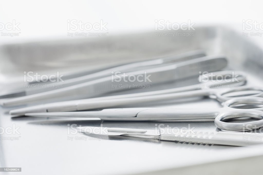 Medical Tools stock photo
