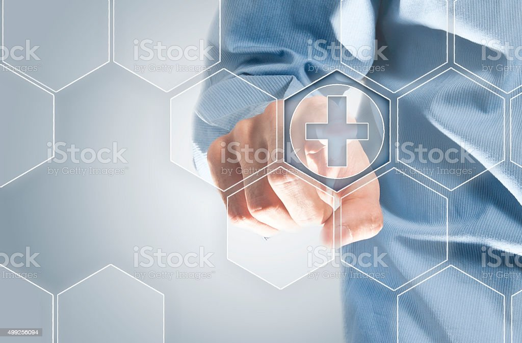 Medical Touchscreen / Medicine (Click for more) stock photo