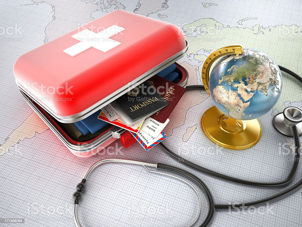 Medical tourism stock photo