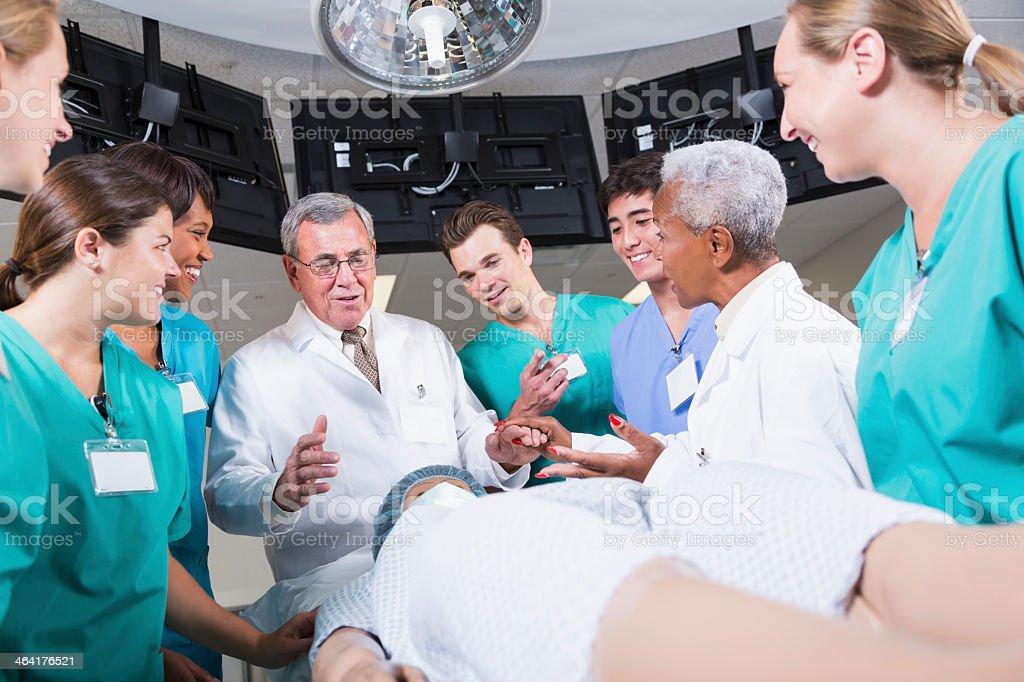 Medical training stock photo
