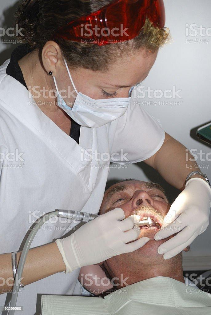 Medical treatment royalty-free stock photo