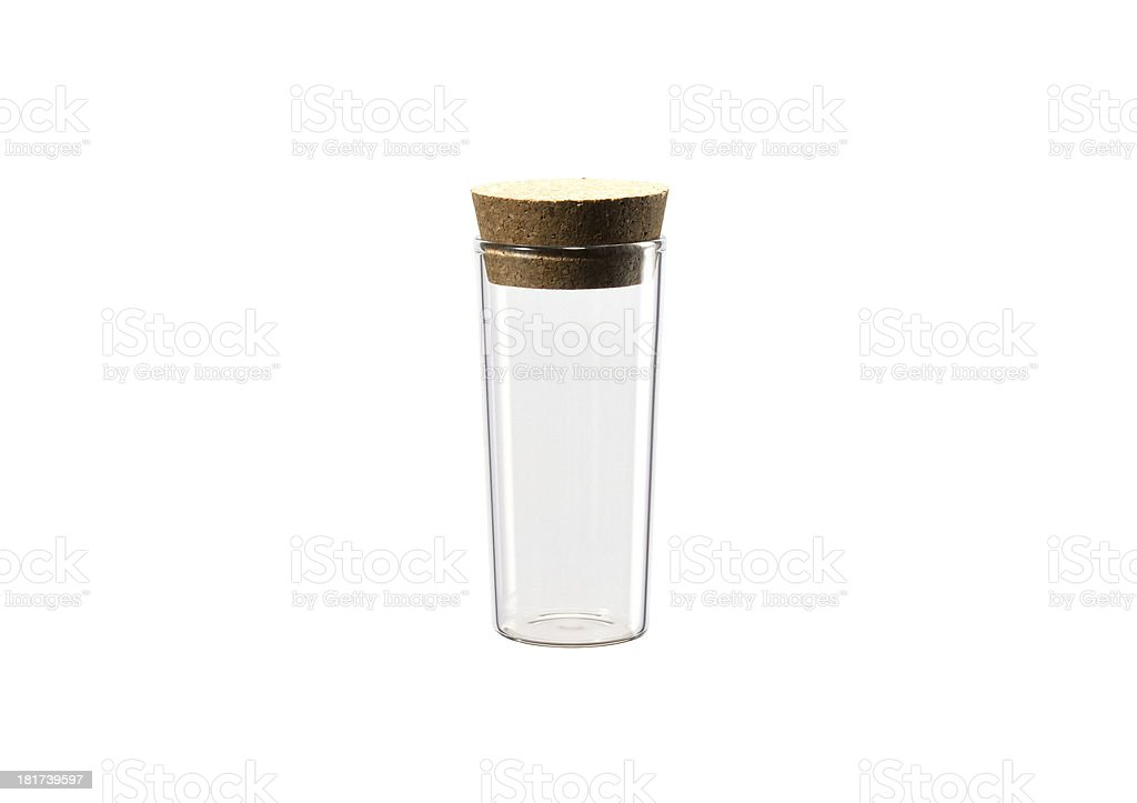 Medical white bottle stock photo