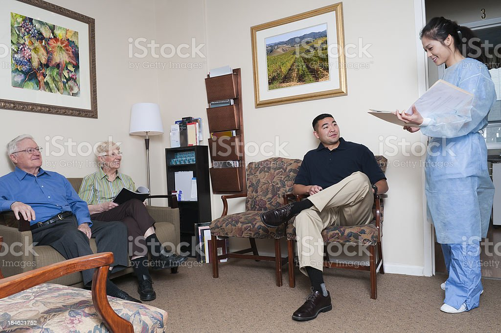 Medical/Dental Office Waiting Room royalty-free stock photo