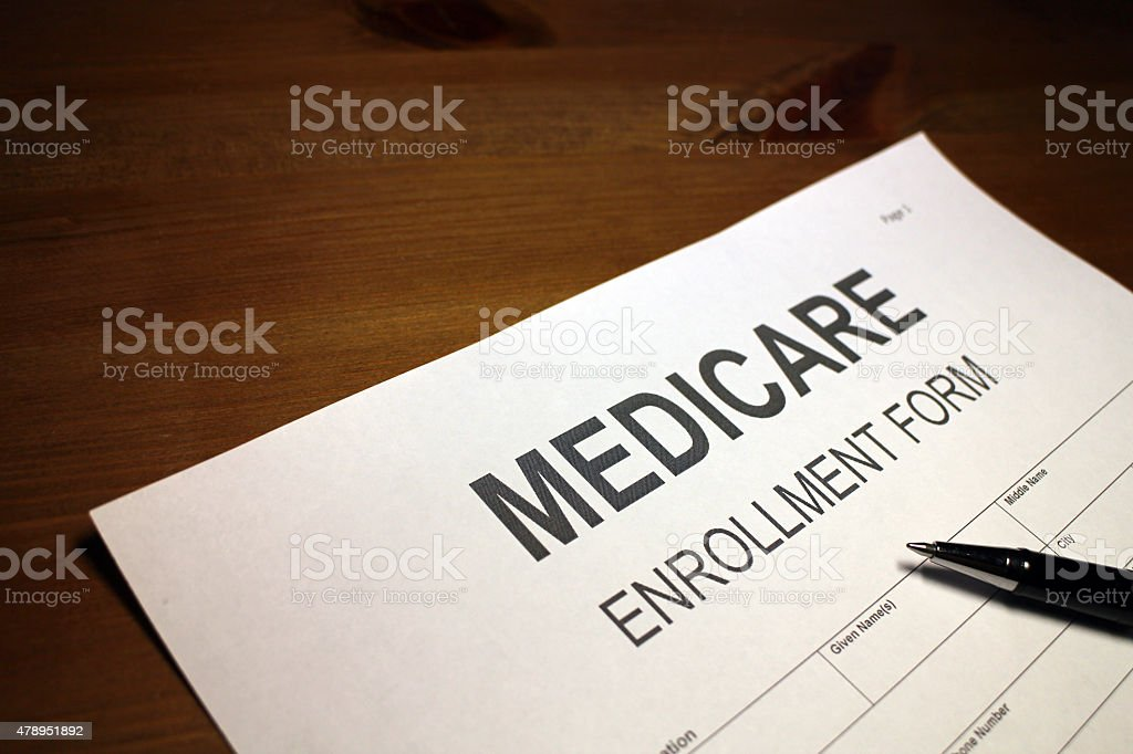 Medicare Application Form Stock Photo 478951892 | Istock