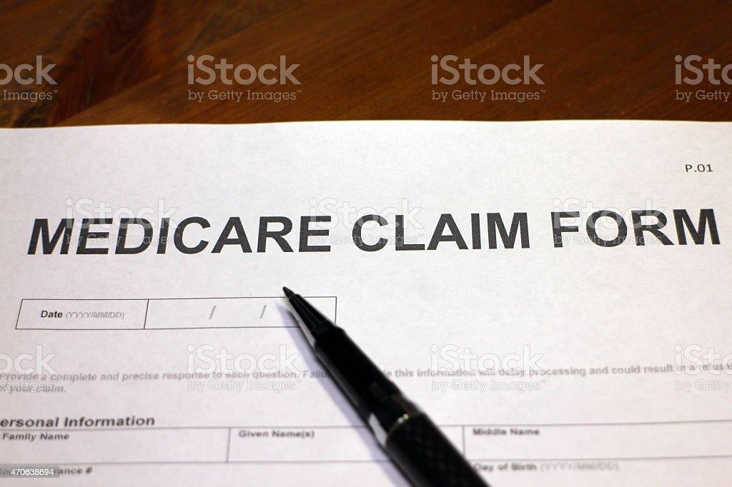 Medicare Claim Form Stock Photo 470638694 | Istock
