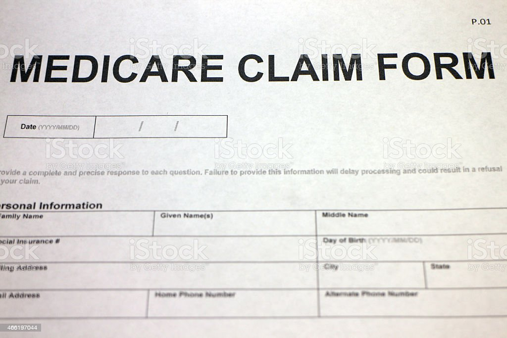 Medicare Claim Paperwork Stock Photo 466197044 | Istock