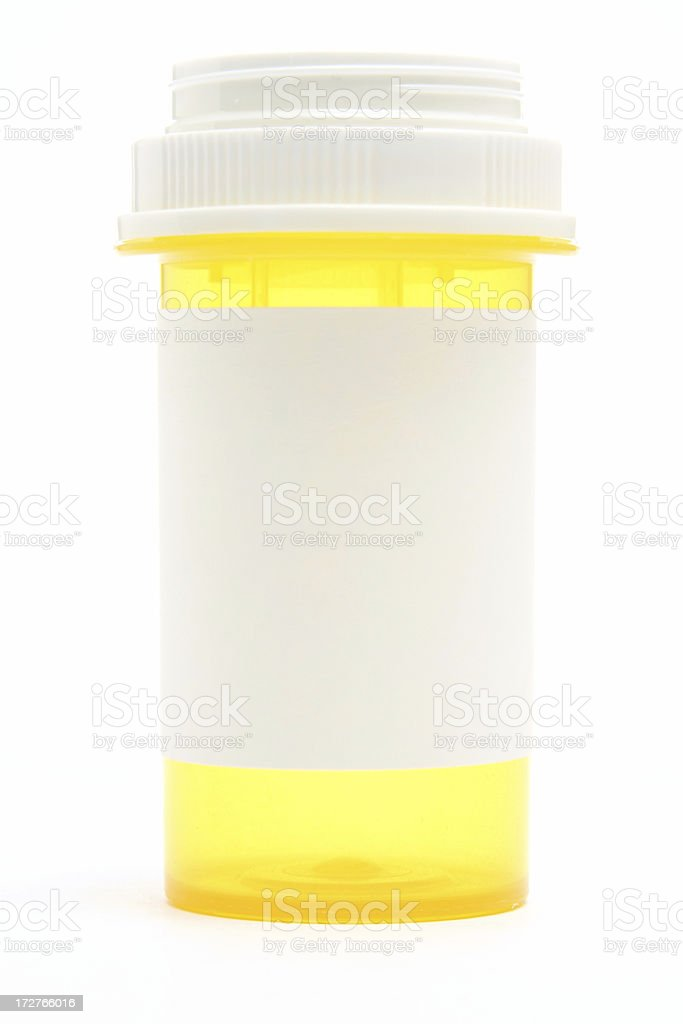 Medication Bottle royalty-free stock photo