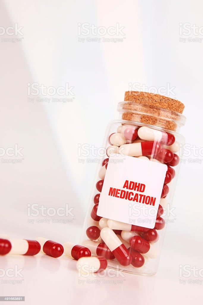 ADHD Medication stock photo