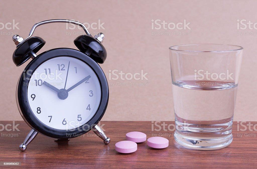 Medication Time stock photo