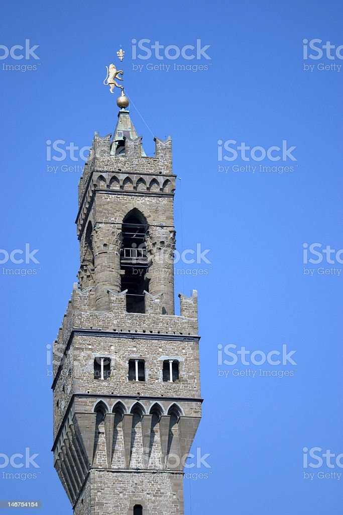 Medici Tower - Florence, Italy royalty-free stock photo