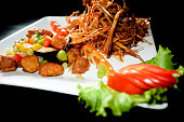 Medicinal Fried Chicken/Thailand Food.,Medicinal Fried Chicken