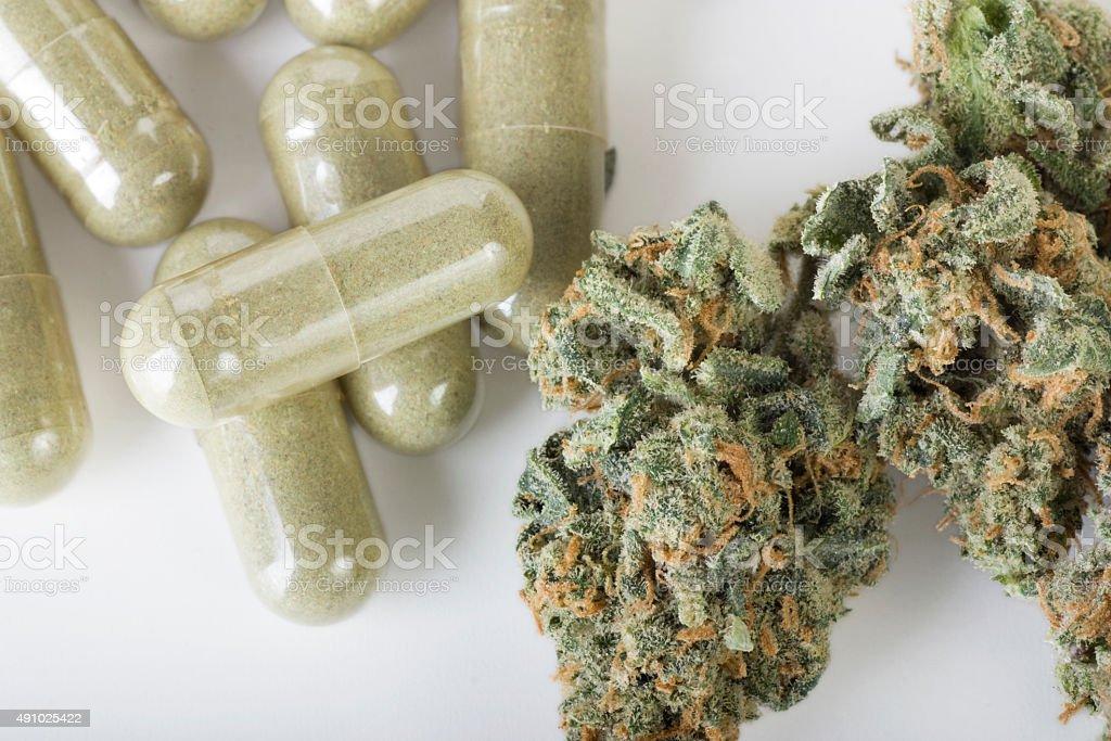 Medicinal Marijuana stock photo