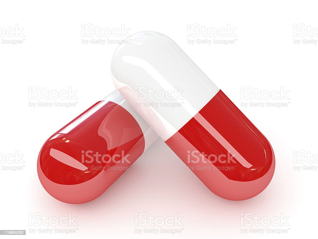 medicine ampule stock photo
